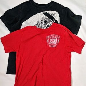 🔥2 boys t/shirt in size 7/8 children place